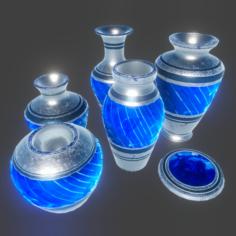PBR – Urn Set 2 3D Model