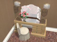Dressing table 3D Model