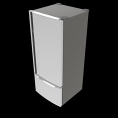 Panasonic Refrigerator 602511L NRB602X 3D Model