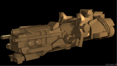 Space-war 3D Model