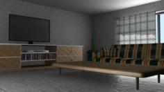 Sala de Descanso 3D Model