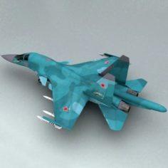 Su-34 v2 3D Model