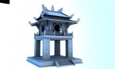 Constellation of literature pavilion of vietnam 3D Model