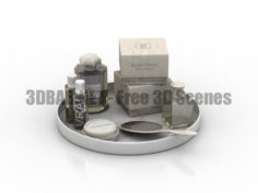 Perfume Decor Set 3D Collection