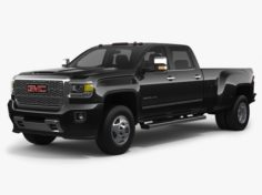 2018 GMC Sierra 3500HD Denali 3D Model