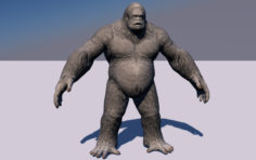 Bigfoot 3D Model