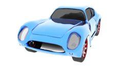 CarAstonMartinDB4GT 3D Model
