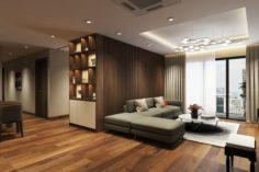 Apartment livingroom 3D Model