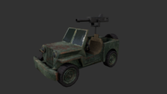 Army jeep 3D Model