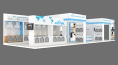 Exhibition stand 06 3D Model