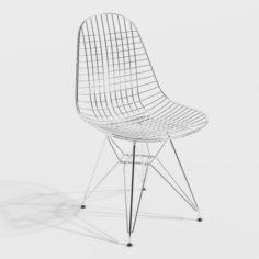 Eames DKR Wire Chair 3D Model