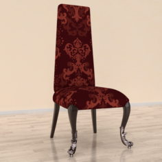 Simple old chair 3D Model
