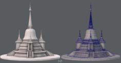 Pagoda V02 3D Model