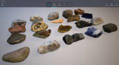 Rocks pack 3 3D Model