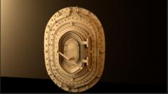 Ship-door 3D Model