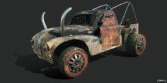 Austin A70(Fire Raider) 3D Model