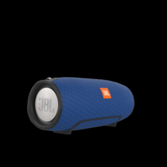 JBL EXTREME PORTABLE BLUETOOTH SPEAKER Blue 3D Model