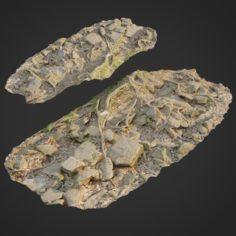 Ground stones F 3D Model