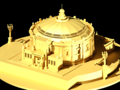 Panorama Of The Defense Of Sevastopol F A Rubo 3D Model