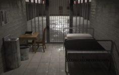 Prison cell 3D Model