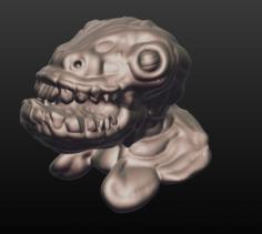 Reptilian 2 3D Model