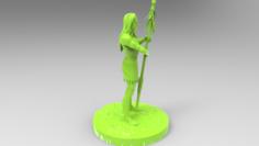 American 3D Print 3D Model