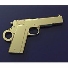 Colt pendant 3D Model