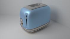 Vintage Toaster 3D Model