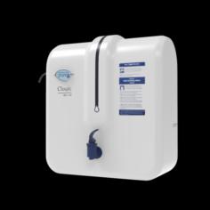 Pureit CLASSIC RO UV Water Purifier White 3D Model