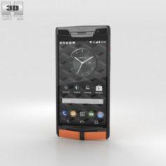 Vertu Signature Touch 2015 Carbon Sport 3D Model