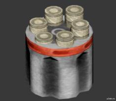 Ammo Pickup JHP 3D Model