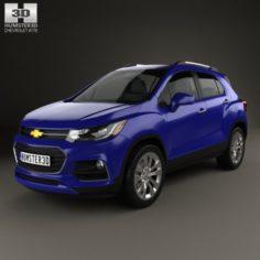 Chevrolet Trax 2017 3D Model