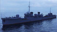 Japanese Mutsuki-class destroyer 3D Model