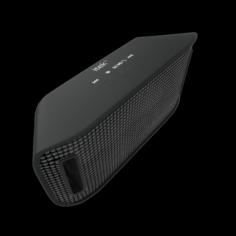 ITEK RAGER II PORTABLE BT SPEAKER BLACK 3D Model