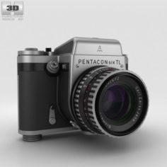 Pentacon Six TL 3D Model