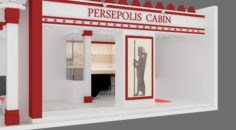 Exhibition stand 05 3D Model