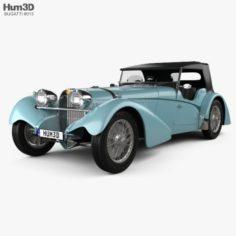 Bugatti 57SC Sports Tourer 1937 3D Model