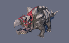 Bolladon Male 3D Model