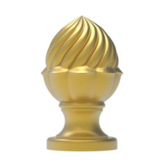 Cones carved 32 3D Model