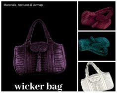 Wicker bag 3D Model