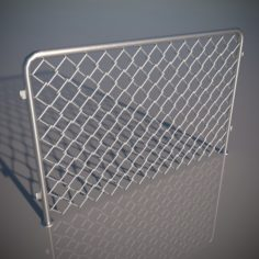 Fence 03 3D Model