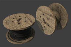 Cable Coil 3D Model