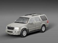 Lincoln Navigator 3D Model
