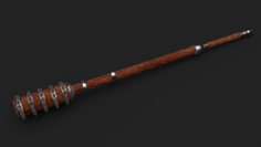 BARREL MACE 3D Model