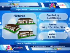 Townhouse 07 3D Model