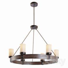 Arturo 6-Light Round Chandelier                                      3D Model