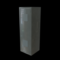 School locker 3D Model