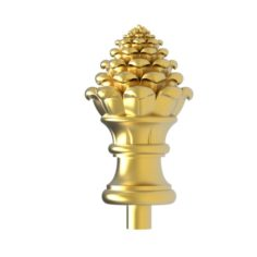 Cones carved 24 3D Model