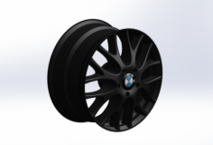 Rim of car parts of auto 3D Model