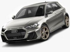 Audi A1 2019 3D Model